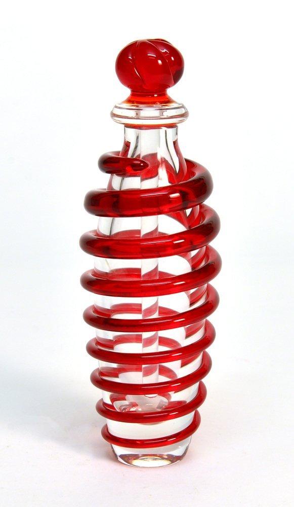 Manifattura di Murano Carlo Moretti bottiglia