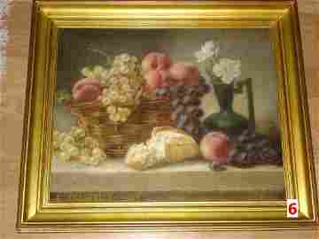 Still Life with Fruit and Basket