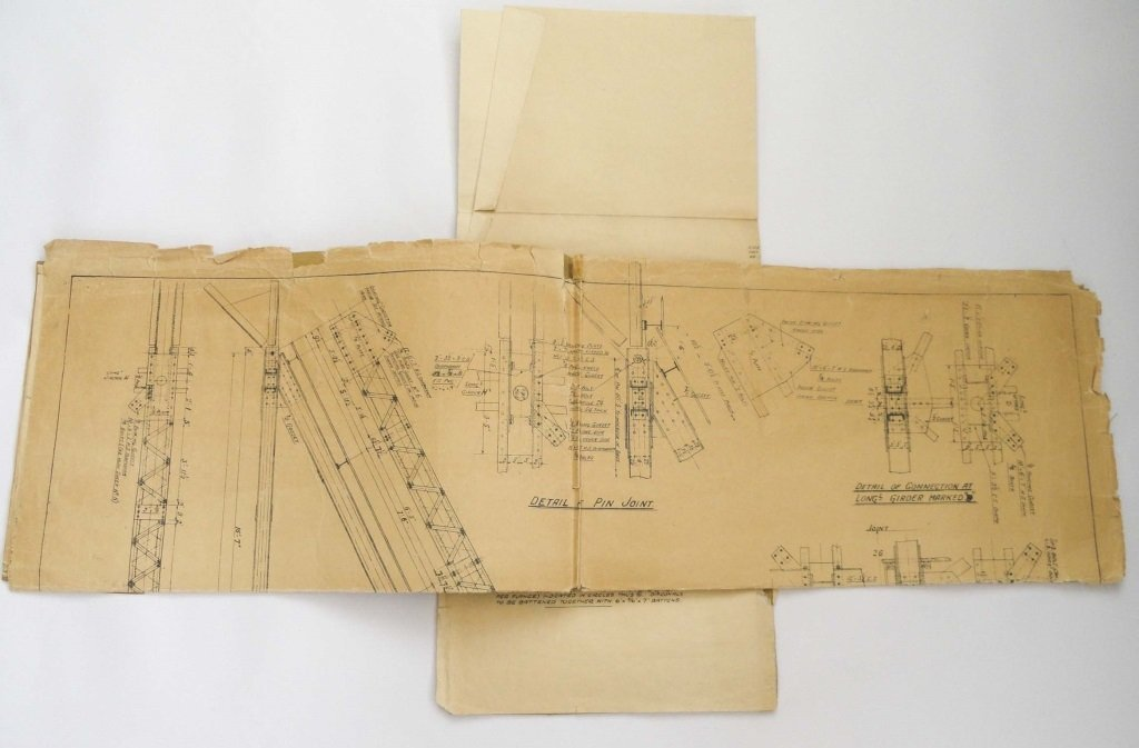 CARDINGTON AIRSHIP SHEDS 1927 PLANS - 3