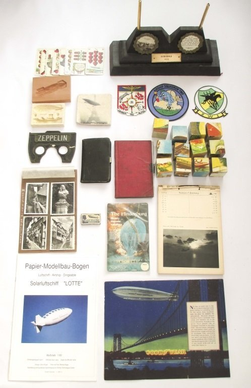 LOT OF ZEPPELIN COLLECTIBLES
