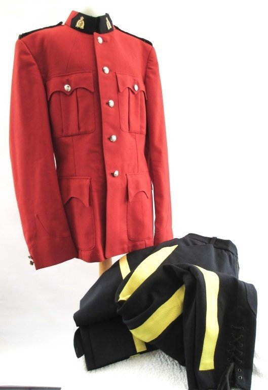 Rcmp Royal Canadian Mounted Police Uniform
