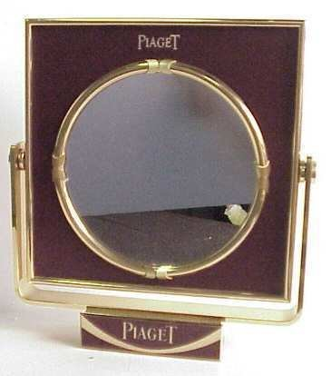 "1017: Piaget store display mirror, 11 /2""h"