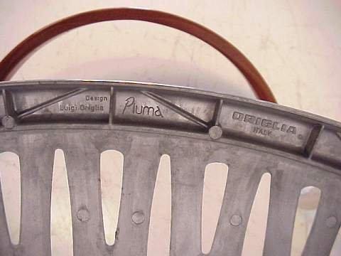 2348: Luigi Origlia / Italy three Piuma side chairs, al - 3