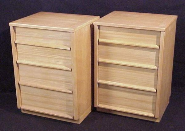 "2023: Wormley / Drexel ""Precedent"" pair of 4 drawer  ni"