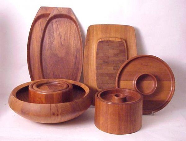 2005: Scandinavian Wood 6 pcs includes Dansk , Nissen &