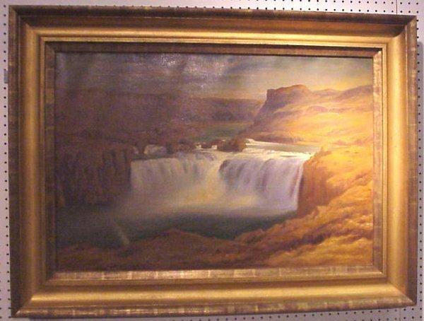 """5127: John Henry Hill (1839-1922 Lake George, NY)  """"Sho"""