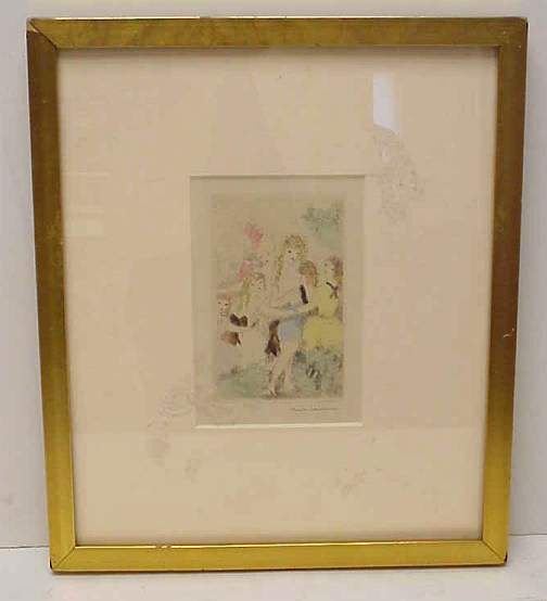 5003: Marie Laurencin (1885-1956, France) Group of Wome