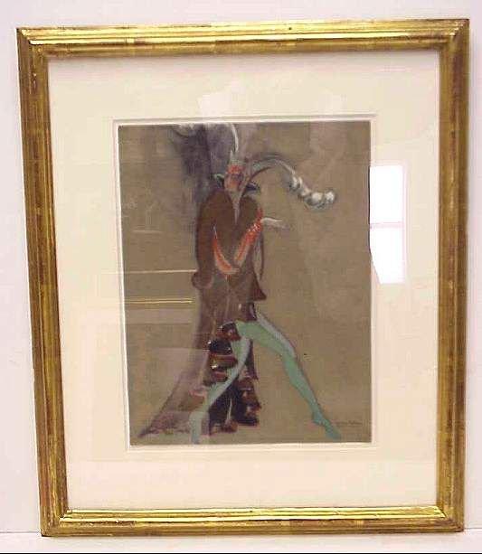 5004: Georges Lepape (1887-1997, France) Costume design