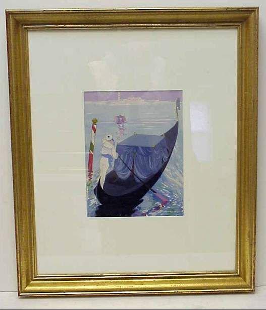 5005: Umberto Brunelleschi (1879-1948, Italy) Sailor an