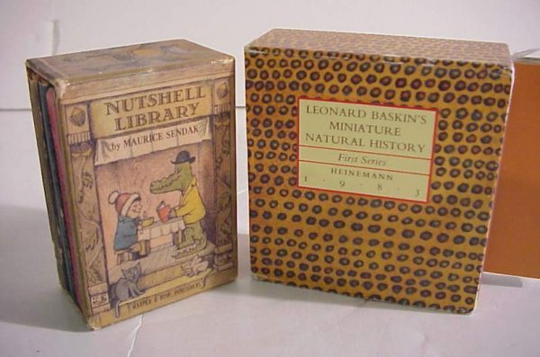 "3: 2 mini set of books - ""Nutshell Library"" by  Maurice"