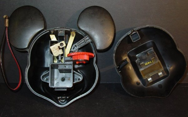 "22A: Vintage Mickey Mouse camera, 6 1/2""h - 3"