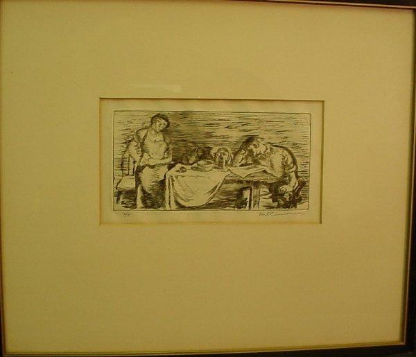 "2009: Carl Zimmerman (1900-1985, Amer) ""Reading the Hel"