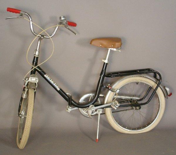 1: Barbarella Italian folding (collapsible)  bicycle