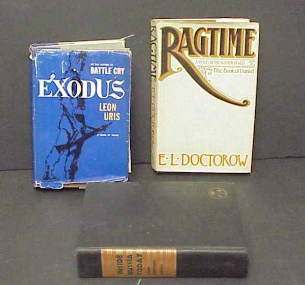 1004: Exodus, one copyright 1958, with dust jacket, by