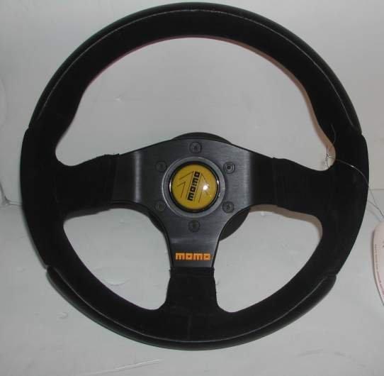 "2012: Momo steering wheel for a Ferrari 11 1/2"", as  fo"