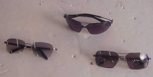2014: 3 Chrome Hearts sunglasses