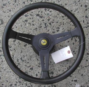 """2013A: Ferrari steering wheel for a Ferrari 14"""", as  fo"""