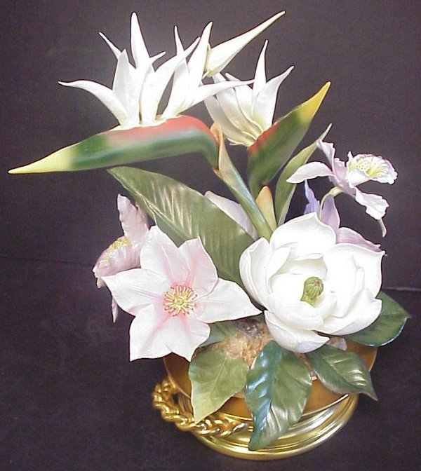 3159: Boehm Southern Accents Centerpiece, limited  edit