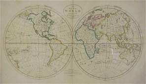 2024 Mathew Carey 19th cmapmaker A Map of the Worl