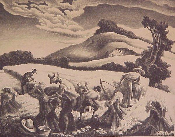 2192: Thomas Hart Benton, N.A. (1889-1975 Kansas City,
