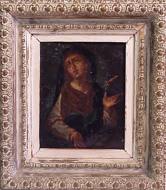 2009: Old Master portrait of The Madonna, oil on canvas