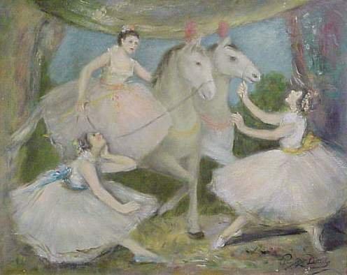 1124: PEGGY DODDS (1900-1989 PATERSON, N.J.) BALLERINAS