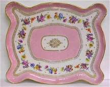 1236A LIMOGES PORCELAIN DRESSER TRAY MID 20THC 12 X