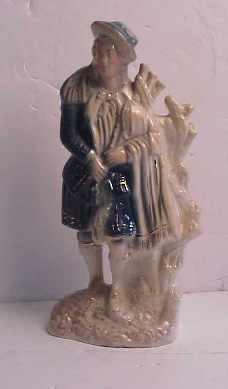 "1014: Staffordshire figure of a Highlander, 15 1/4""h"