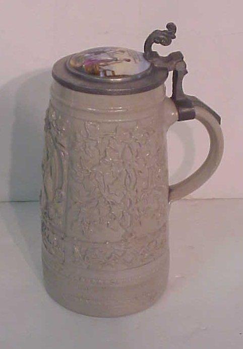2012: German stoneware stein with porcelain top,  19/20