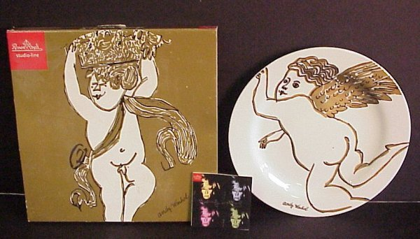 21: Andy Warhol Rosenthal Studio Line collector plate,