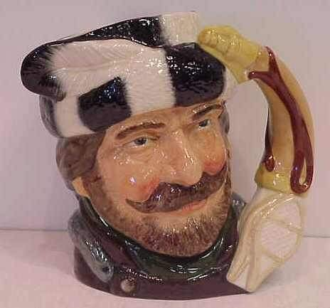"9: ROYAL DOULTON ""THE TRAPPER"" TOBY JUG OR MUG"