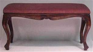 37: MID 20THC COUNTRY FRENCH PINE OTTOMAN MADE IN ITALY