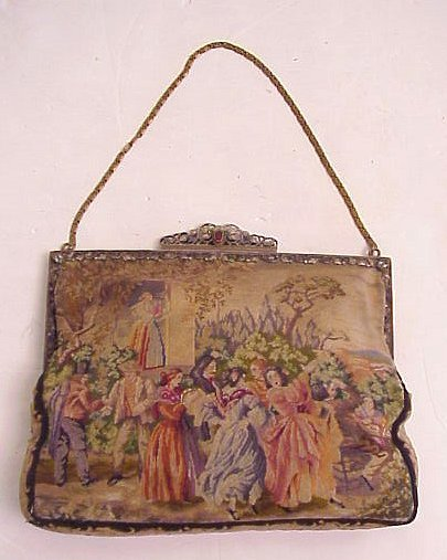 2007: Petitpoint purse - day to evening - evening side