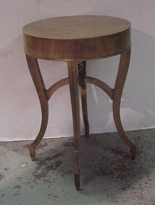 2030: Weiman Heirloom burl wood table,