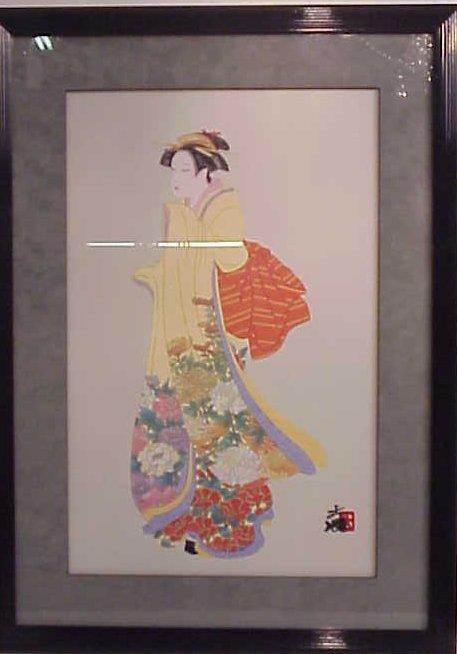 """1028: Hisashi Otsuka, Hawaiian artist, """"Timeless Beauty"""