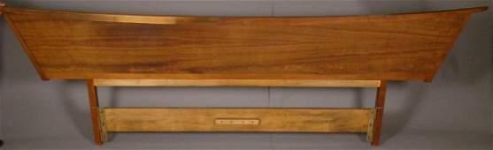 2260: George Nakashima / Widdicomb king size headboard,
