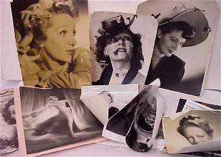EARLY MOVIE STAR AUTOGRAPHED PHOTOS: MARLENA DIET