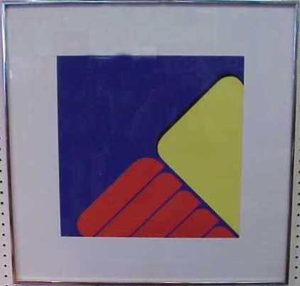 2001: FRANK WERNER (20THC CHICAGO, IL) SCREEN PRINT, #2