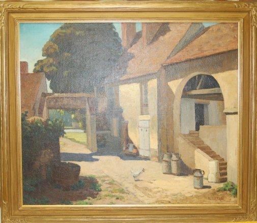 1177: Nellie E. Zielger (California 1874 - 1948) , Farm