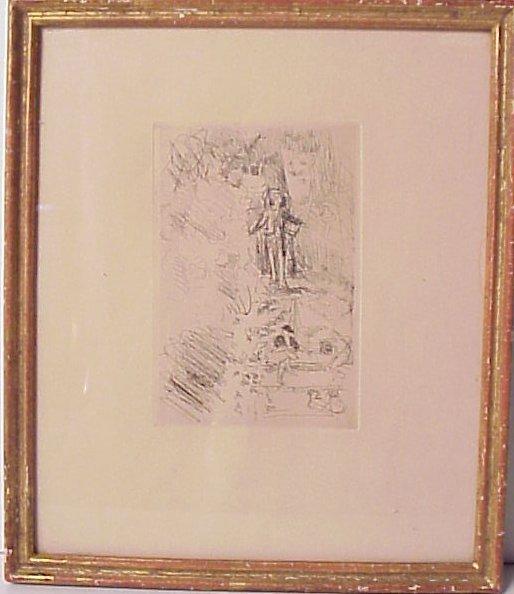 1012: Jean Edouard Vuillard (1867-1940 France) Portrait