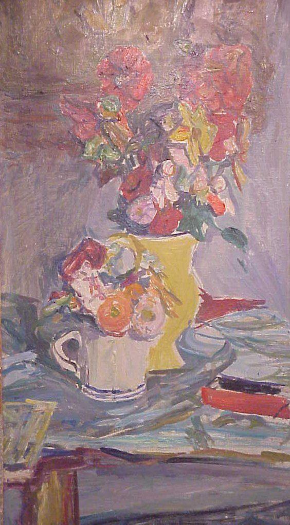 1232: Emile Sabouraud (1900-? France) Impressionistic