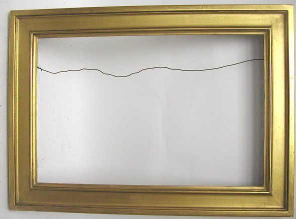 1020: Foster Bros. 19th Century Gilt picture frame, woo