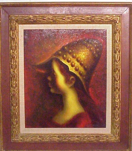 """2040: Jaime de Jaraiz (1934 - Spain), """"Girl in Golden"""