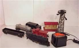 2301: Lionel train set 5 pieces, including engine #2026