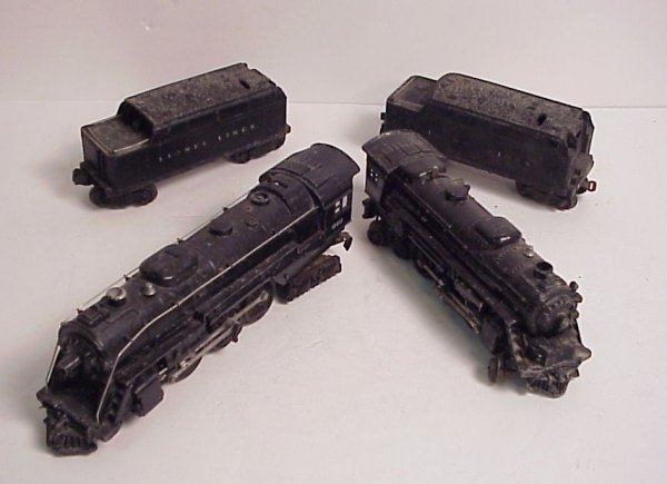 3008: Lionel - 2 engines, 1 646, 1 2029 and two tenders