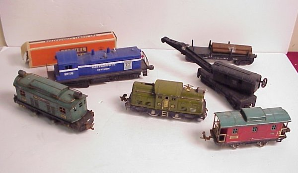 3015A: Lionel boxed 3461X automatic lumber car, 8770  e