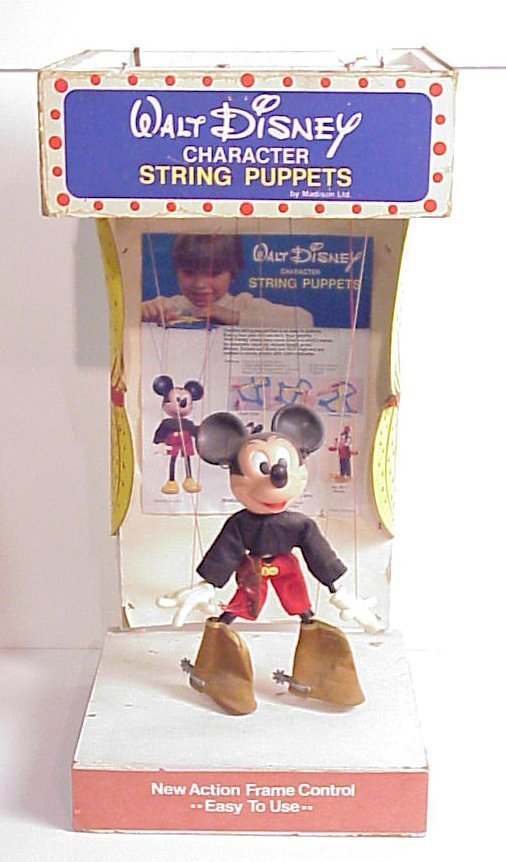 23: Disney Mickey Mouse string puppet electrical store