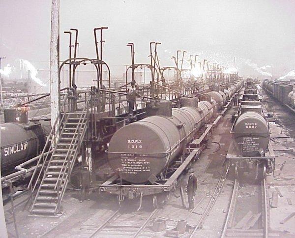 "25A: 9 Ewing Galloway railroad photos 9 1/2"" x 8"""