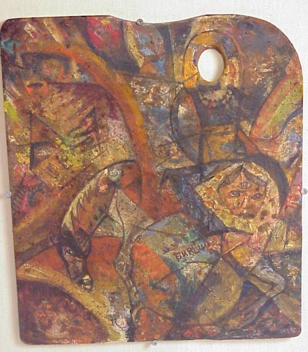 140: Russian Painting David Burliuk ( 1882 - 1967 )