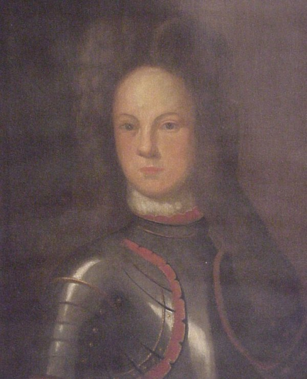 25: Old Master, 17th century, English soldier, oil on